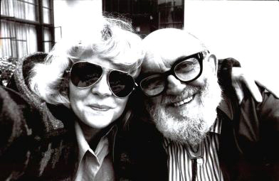 Portrait of Cherie Hiser and Ansel Adams