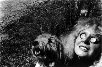 Self-portrait of Cherie Hiser in Aspen, 1968