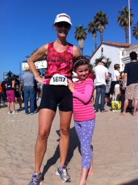 Becky Green Aaronson at the Santa Barbara Triathlon
