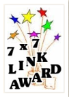 7x7 Blog award graphic