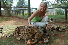 Lori Robinson in Africa