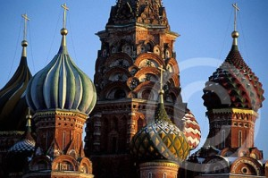 St. Basil's Cathedral in Moscow, Russa