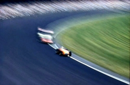 Photo of race cars by Ernst Haas