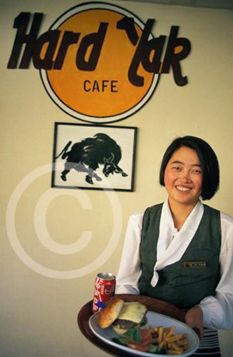 Photo of the Hard Yak Cafe in Lhasa, Tibet