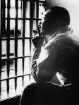 Photo of Martin Luther King Jr. in jail