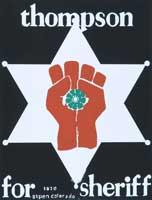 Tom Benton Hunter Thompson Poster