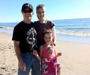 Photo of Aaronson Family in Santa Barbara