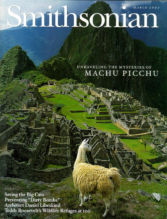 Photo of Smithsonian Magazine Cover