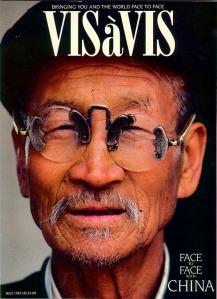 Vis a Vis magazine cover