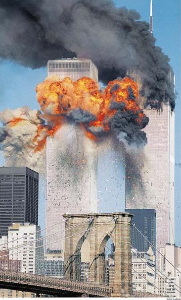 World Trade Center on September 11th