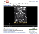 Alfred Eisenstadt You Tube Video