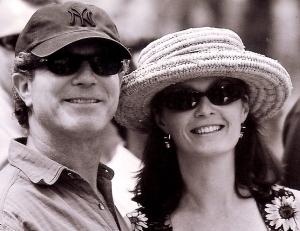 Portrait of Jeffrey and Becky Aaronson